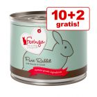 10 + 2 zdarma! 12 x 200 g Feringa Pure Meat Menu