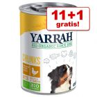 11 + 1 zdarma! 12 x 380 g / 400 g / 405 g / 820 g Yarrah Bio