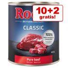 10 + 2 zdarma! 12 x 800 g Rocco Classic