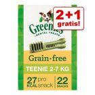 2 + 1 zdarma! 3 x Greenies Dental Care pamlsky!