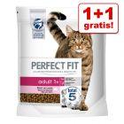 1 + 1 zdarma! 2 x 1,4 kg Perfect Fit granule pro kočky