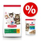 Zestaw Hill's Science Plan Kitten, 7 kg + 12 x 85 g