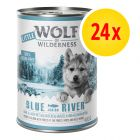 Zestaw Little Wolf of Wilderness Junior, 24 x 400 g