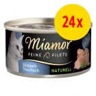 Zestaw Miamor Feine Filets Naturelle, 24 x 80 g