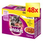 Zestaw Whiskas Junior w saszetkach 48 x 100 g