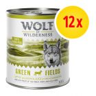 Zestaw Wolf of Wilderness Adult, 12 x 800 g