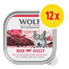Zestaw Wolf of Wilderness Adult, 12 x 300 g