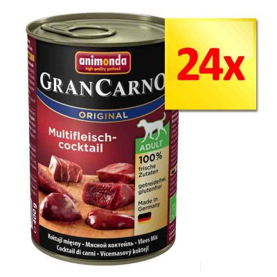 Zestaw Animonda GranCarno Original Adult, 24 x 400 g