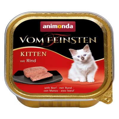 Zestaw Animonda vom Feinsten Kitten, 30 x 100 g
