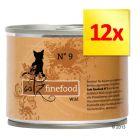 Zestaw Catz Finefood w puszce, 12 x 200 g