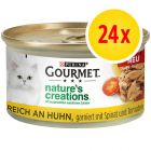 Zestaw Gourmet Nature's Creations Grilled, 24 x 85 g