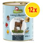 Zestaw GranataPet Liebling's Mahlzeit, 12 x 800 g