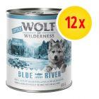 Zestaw Little Wolf of Wilderness Junior, 12 x 800 g