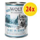 Zestaw Little Wolf of Wilderness Junior, 24 x 400 g