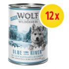 Zestaw Little Wolf of Wilderness Junior, 12 x 400 g