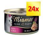 Zestaw Miamor Feine Filets w puszkach, 24 x 100 g