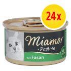Zestaw Miamor Pastete, 24 x 85 g