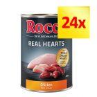 Zestaw mieszany Rocco Real Hearts, 24 x 400 g