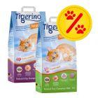 Zestaw mieszany Tigerino Nuggies i Nuggies Fresh, żwirek drobnoziarnisty, 2 x 14 l