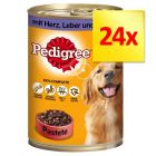 Zestaw Pedigree Classic, 24 x 400 g