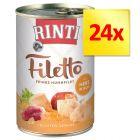 Zestaw RINTI Filetto, 24 x 420 g