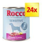 Zestaw Rocco Sensitive, 24 x 800 g