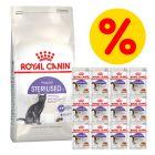 Zestaw Royal Canin, sucha + mokra karma