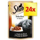 Zestaw Sheba Delicato, 24 x 85 g