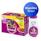 Zestaw startowy Whiskas Junior w saszetkach + Whiskas mleko w super cenie!
