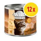 Zestaw Wild Freedom Kitten, 12 x 200 g