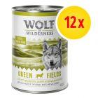 Zestaw Wolf of Wilderness Adult, 12 x 400 g