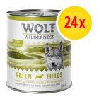 Zestaw Wolf of Wilderness Adult, 24 x 800 g