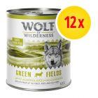 Zestaw Wolf of Wilderness Adult, 12 x 800 g