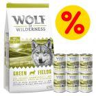 Zestaw Wolf of Wilderness, karma sucha i mokra