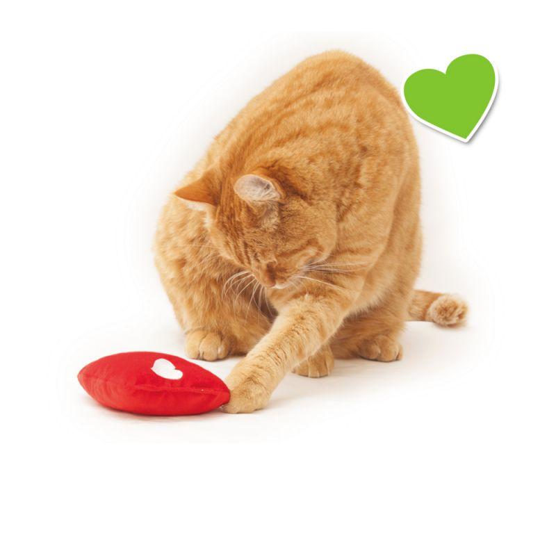 zoolove corazón con espelta y valeriana para gatos
