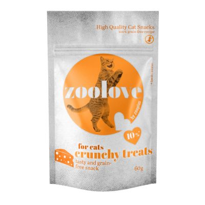 zoolove crunchy treats Chicken & Cheese Mixed Pack