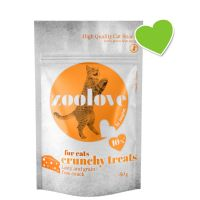 zoolove crunchy treats fromage pour chat
