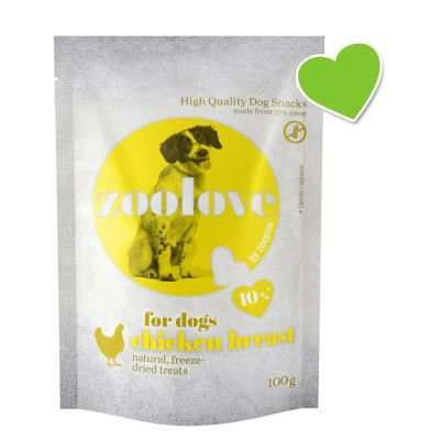 zoolove Freeze-dried Dog Treats – Chicken Breast