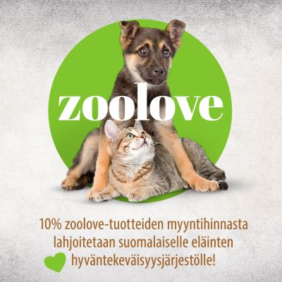 Zoolove 3in1 -lelukeppi, metallivartinen