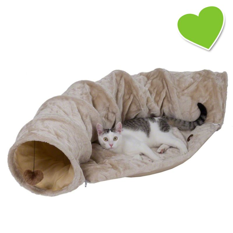 Zoolove kočičí tunel s polštářem