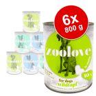 zoolove Pachet mixt de testare Hrană umedă câini