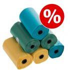 zoolove sacos coloridos para dejetos a preço especial!