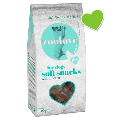 zoolove Soft Snacks Dog Treats 100g