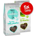 zoolove Soft Snacks Dog Treats Saver Pack 5 x 100g