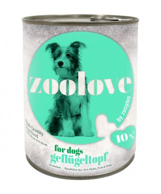 zoolove Three Bird Casserole Wet Dog Food