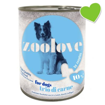 zoolove Trio di Carne Wet Dog Food