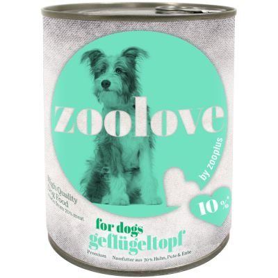 zoolove Wet Dog Food Saver Pack 24 x 800g