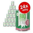 zooplus Bio Adult Organic Saver Pack 24 x 400g