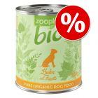 zooplus Bio comida húmida 6 x 800 g a preço especial!