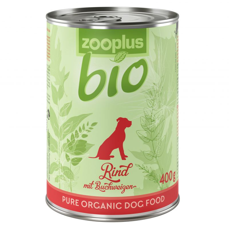 zooplus Bio – Organic Beef with Buckwheat